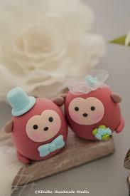 monkey mochiegg wedding cake topper www etsy com listing 1 u2026 flickr