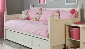 girls white storage bed daybed full daybed with storage gorgeous abby full daybed with