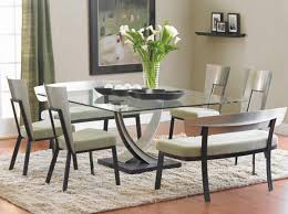 glass dining room sets 15 shimmering square glass dining room tables home design lover