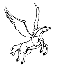 good pegasus coloring page 53 on coloring pages for kids online