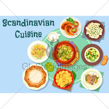 salm cuisine cuisine dishes for menu design gl stock images