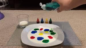 magic milk experiment colours diy fun activity science youtube