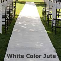 burlap wedding aisle runner burlap wedding aisle runner 36 inch x 100 rustic