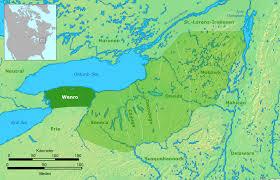 Native American Tribes Map Wenrohronon Wikipedia