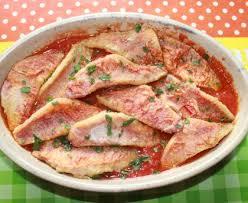 cuisiner rouget filets de rougets sur lit de tomates recette de filets de