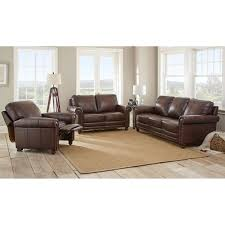 cute madison leather sofa set costco with home decor arrangement