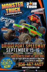 monster truck show nj swedesboro new jersey bridgeport speedway september 15 16 2018