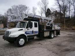 elliott l55r mh 2004 international 4300 extended cab 4x2 sign truck