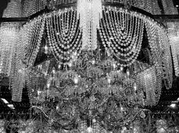 Crystal And Black Chandelier Fabulous Black And White Crystal Chandelier Also Home Decoration