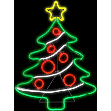 gemmy 1 ft h x 2 ft l light glo christmas tree 14332x the home