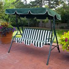 patio swing canopy replacement black sturdy metal steel frame iron
