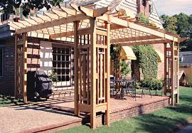 Backyard Arbors Backyard Pergola Ideas