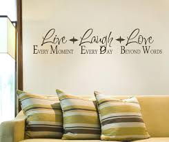 wall writing decor ideas live laugh wall decor home ideas