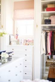 office closet reveal the finished product pink peonies by