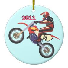 dirt racing ornaments keepsake ornaments zazzle