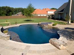 Deep Backyard Pool by Swimming Pool Accents Pool Features Personalized Features