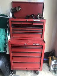 Tool Cabinet On Wheels by Tool Box It U0027s Has A Few Dents On The Top Of The Bottom Part But No