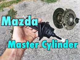 Mazda Clutch Master Cylinder Replacement Youtube