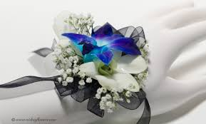 blue orchid corsage wedding corsages vickies flowers brighton colorado florist