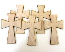 unfinished wooden crosses wood crosses etsy