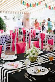 inviting bridal shower table decor kate spade bridal wedding