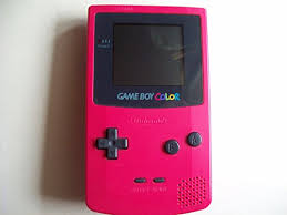 Amazon Com Game Boy Color Berry Video Games Gameboy Color