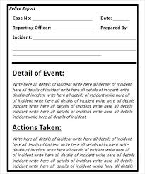 Incident Investigation Report Template by Report Template Investigation Report Template