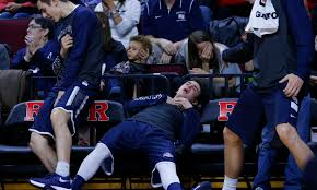 basketball bench celebrations the greatest show in college hoops may not make it to the