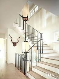 home interior railings black metal stair railing vetrochicago