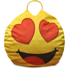 wine emoji emoji pals eyes for you mini bean bag with handle walmart com