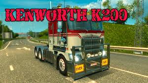 kenworth technical support kenworth k200 euro truck simulator 2 youtube