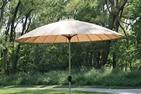 Windproof Patio Umbrella 9 10 Outdoor Wind Resistant Patio Umbrella With