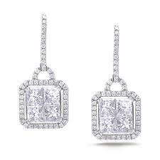diamond dangle earrings diamond dangle earrings sge138 anaya jewellery collection