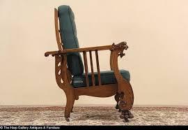 antique reclining morris chair naya furnitures