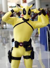 pikachu costume deadpool pikachu costume for 15070243