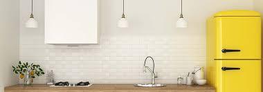 cuisine papier peint décorer ses murs de cuisine papier peint ou carrelage cdiscount