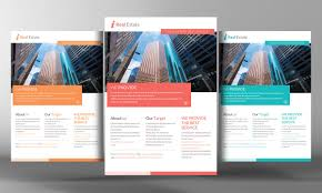 Free Real Estate Brochure Template by Real Estate Flyer Template Templates Creative Market