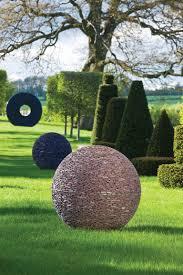 david harber planet sculptures jardin garden