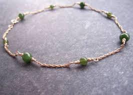 beaded ankle bracelet images Ankle bracelets gold sterling silver JPG