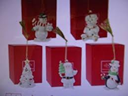 lenox merry porcelain ornament set of 5 home