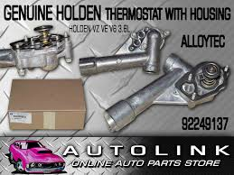 genuine thermostat u0026 housing suit holden commodore vz u0026 ve with v6