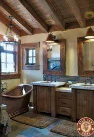 Painting Interior Log Cabin Walls by Bathrooms Design Rustic Bathroom Decor Paint Wall Modern More
