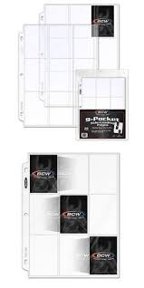 500 Page Photo Album Albums Binders And Pages 183439 1 Case 500 Pages Bcw Pro 6