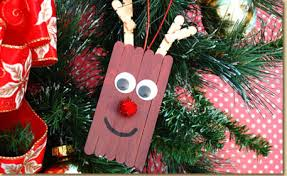 rudolf the nosed reindeer ornament craft project ideas