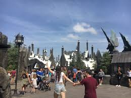 Universal Studios Hollywood Map One Magical Day At The Wizarding World Of Harry Potter In