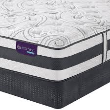 serta icomfort hybrid applause ii plush mattress box spring