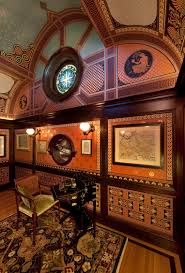 The Map Room Artistic License News Mcdonald Mansion The Formal Interiors At