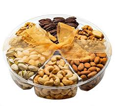vegetarian gift basket gourmet nuts gift basket 6 different delicious