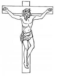 cross printable coloring pages jesus kids hubpages