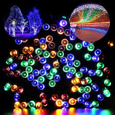 outdoor christmas lights stars christmas christmas solar lights amazon com string lemontec